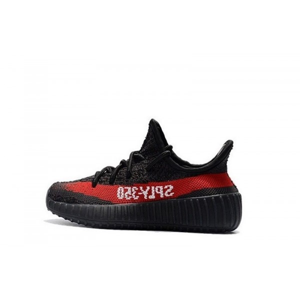 Yeezy for Kids Black/Red